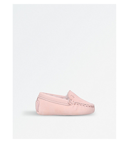 TODS Gommini leather loafers 3 months - 1 year (Pale+pink