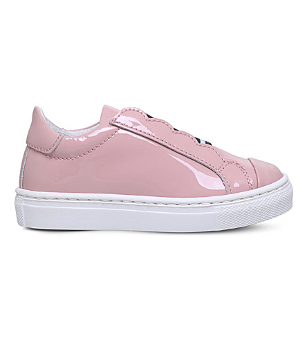 FENDI Flower patent-leather trainers 2.5 - 4 years (Pink