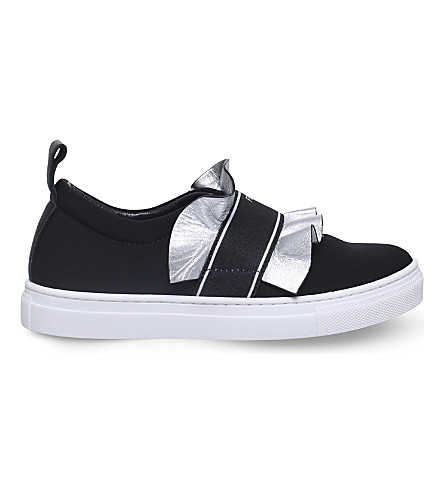 FENDI Frill low-top trainers 6-9 years (Black