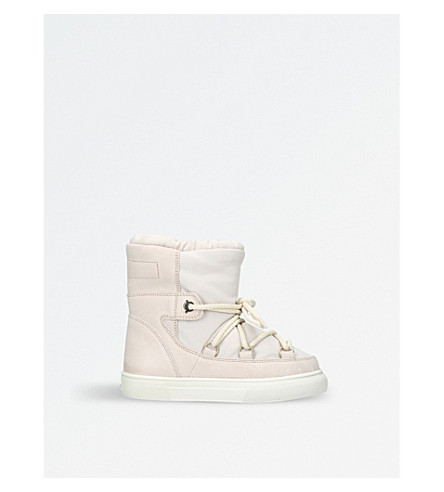 MONCLER Petite fanny snow boots 6-11 years (Pale+pink