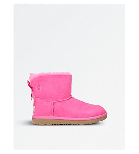UGG Mini Bailey Bow II sheepskin boots (Pink