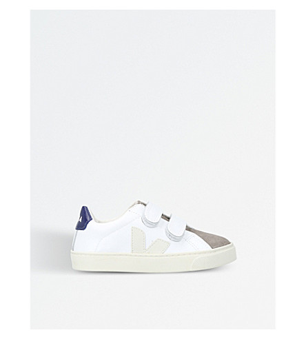 VEJA Esplar leather trainers 6-9 years (White/oth