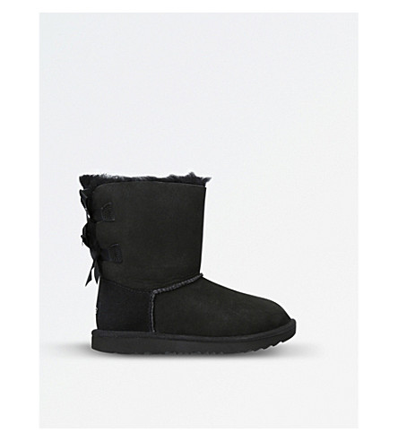 UGG Bailey bow II sheepskin boots (Black