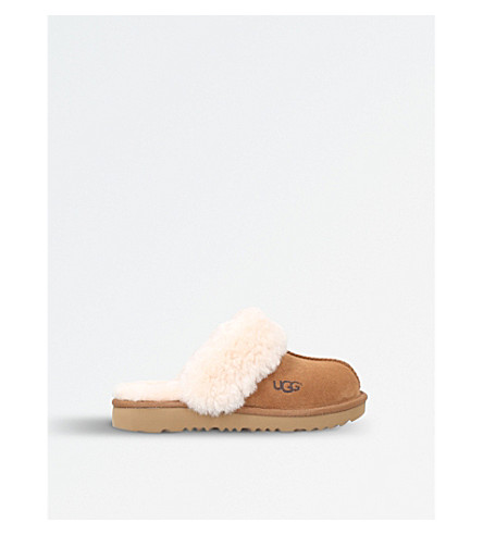 UGG Cozy II sheepskin slippers (Brown
