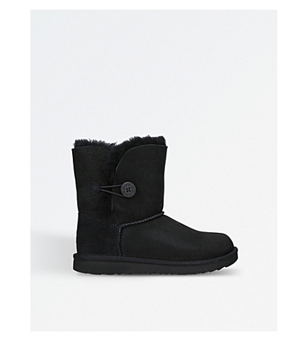 UGG Bailey button II sheepskin boots (Black