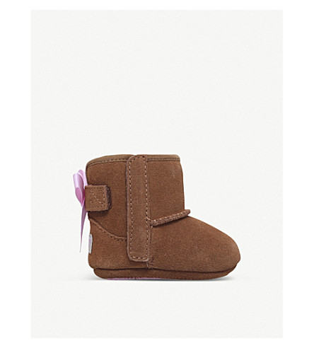 UGG Jesse bow suede boots (Brown