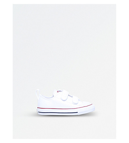 CONVERSE Chuck Taylor leather trainers 2-5 years (White