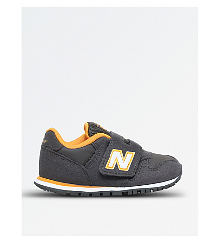 NEW BALANCE 373 suede trainers 2-5 years (Khaki