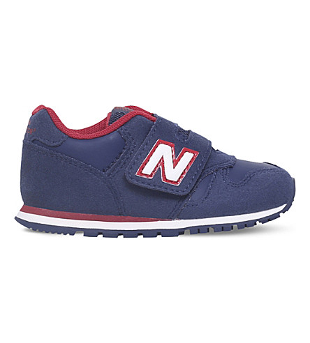 NEW BALANCE 373 suede trainers 2.5 - 5 years (Navy