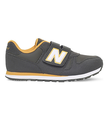 NEW BALANCE 373 suede trainers 6 - 11.5 years (Khaki