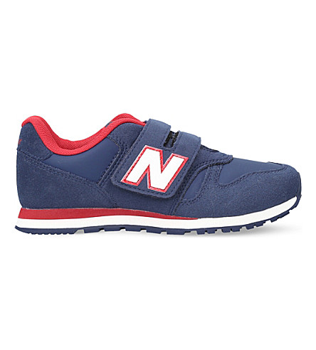 NEW BALANCE 373 suede trainers 6 - 11.5 years (Navy