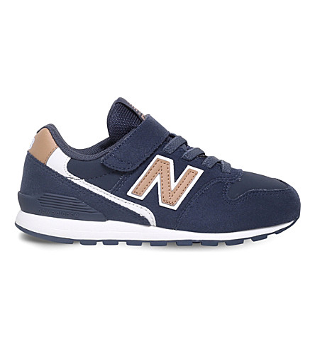 NEW BALANCE 996 suede trainers 6 - 11 years (Navy