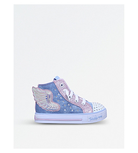 SKECHERS Shuffles Wonder Wings high-top trainers 2-4 years (Blue+other