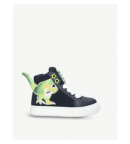 MINI MISS KG Dylan high-top trainers 3-7 years (Navy