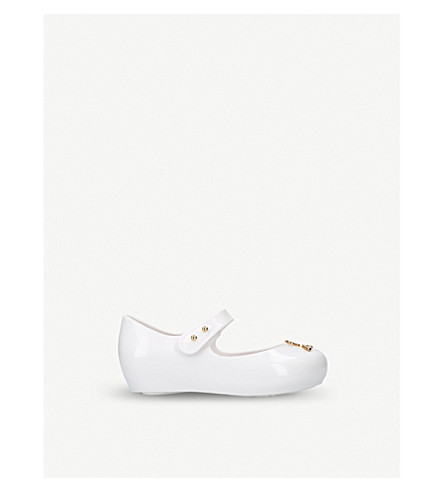 MINI MELISSA Vivienne Westwood Ultragirl mary jane shoes 6 months – 5 years (White