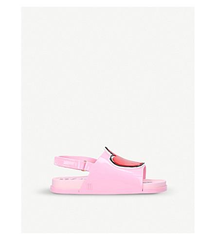 MINI MELISSA Vivienne Westwood Beach Sliders 6 months – 5 years (Pink
