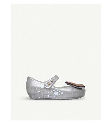 MINI MELISSA Disney Lady & The Tramp mary-jane shoes 6 months – 7 years (Silver