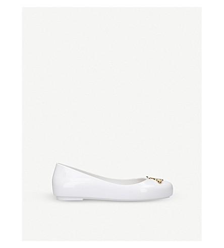 MINI MELISSA Vivienne Westwood Space Love shoes 6 – 9 years (White