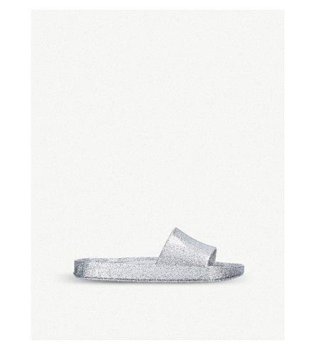 MINI MELISSA Beach sliders 6 – 9 years (Silver