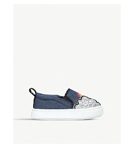 MINI MISS KG Rain or Shine low top trainers (Denim