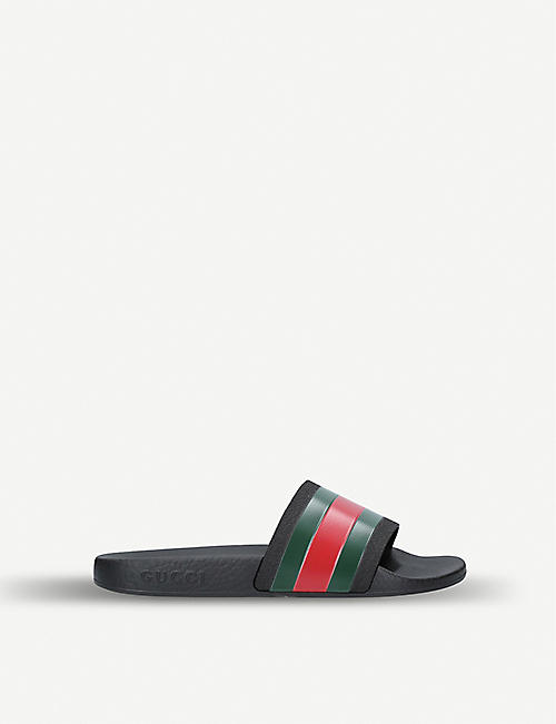 GUCCI Pursuit rubber sliders 4-8 years 6b706171ba