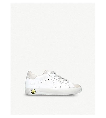 GOLDEN GOOSE Superstar leather trainers 1-5 years (White