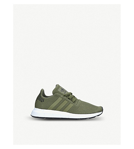 5ac4f79b8 ADIDAS Swift Run Junior knitted trainers 9-10 years (Khaki