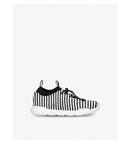 AKID Chase striped EVA trainers 2-9 years (Blk/white