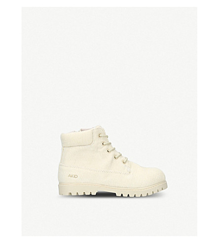AKID Atticus corduroy boots (5-8 years) (Beige