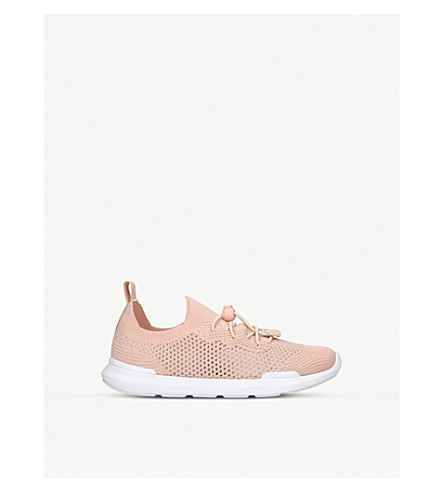 AKID Sutherland perforated trainers (2-10 years) (Nude