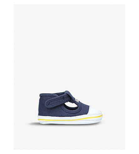 BOSS BY HUGO BOSS Oliver canvas shoes 0-12 months (Navy