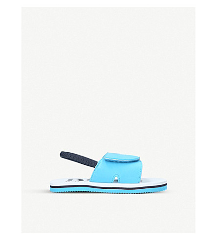 BOSS BY HUGO BOSS Rolf velcro sandals (3-7.5 years) (Turquoise