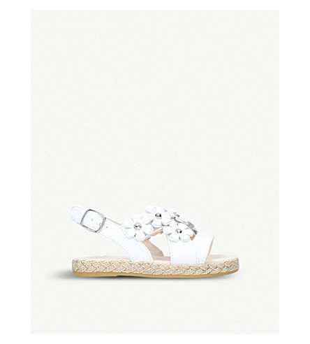 UGG Allairey daisy espadrille sandals 3-6 years (White