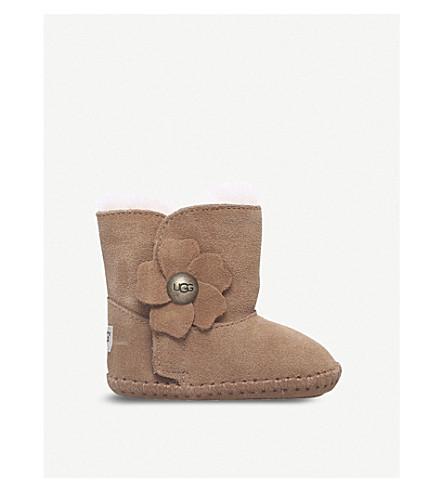 UGG Cassie Poppy suede boots 4-12 months (Brown