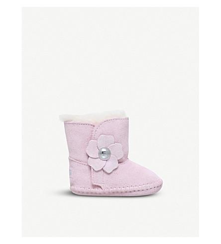 UGG Cassie Poppy suede boots 4-12 months (Pale+pink