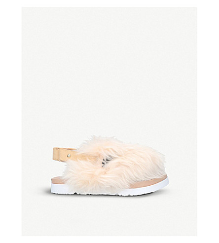 UGG Punki sheepskin sandals 4-8 years (Beige