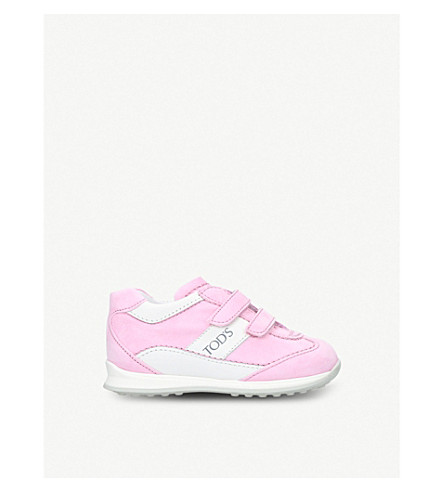 TODS New 0 Wave leather trainers 1-5 years (Pink