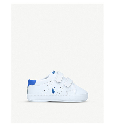 POLO RALPH LAUREN Quilton ez leather trainers (4 months-3 years) (White