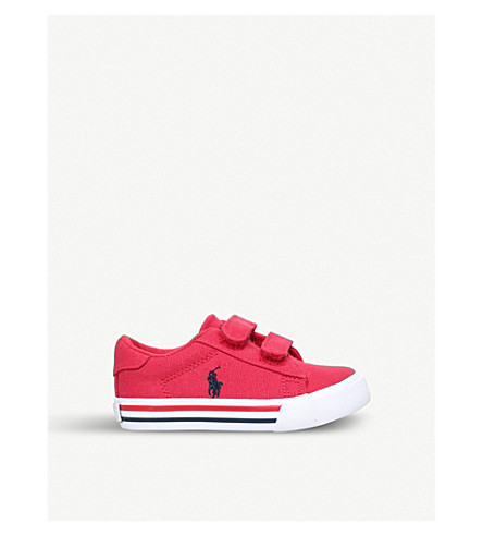 POLO RALPH LAUREN Easten ez canvas trainers (6 months-4 years) (Red