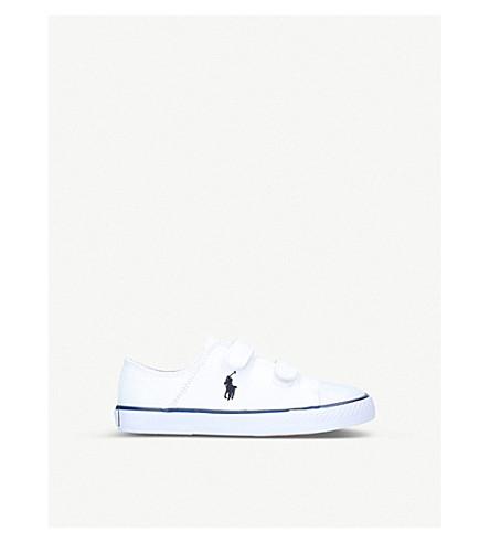 POLO RALPH LAUREN Darian ez canvas trainers (5-8 years) (White