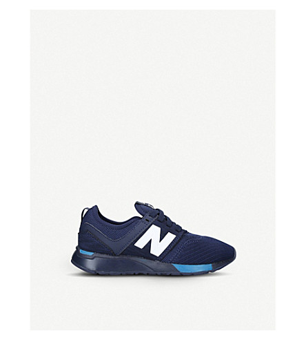 NEW BALANCE 247 low-top mesh trainers 6-9 years (Blue