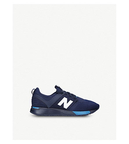 NEW BALANCE 247 low-top mesh trainers 9-11 years (Blue