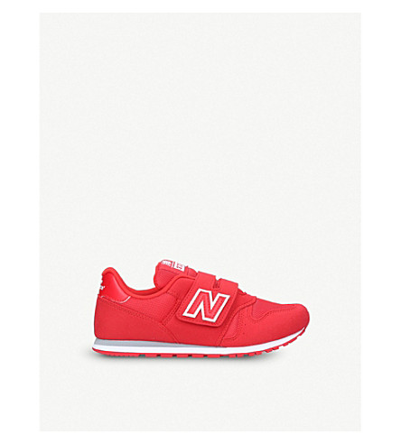 NEW BALANCE 373 low-top mesh trainers 6-11 years (Red