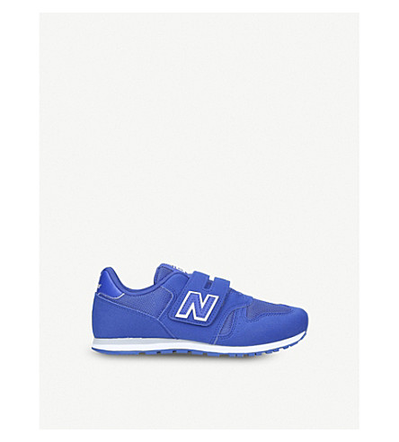 NEW BALANCE 373 low-top mesh trainers 6-11 years (Blue