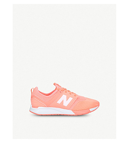 NEW BALANCE 247 low-top mesh trainers 6-9 years (Pink