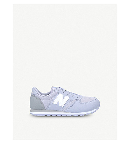 NEW BALANCE 420 suede trainers 6-10 years (Lilac