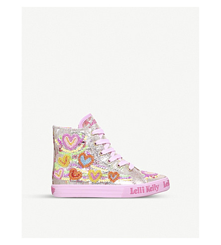 LELLI KELLY Mila mid high-top trainers 4-9 years (Mult/other