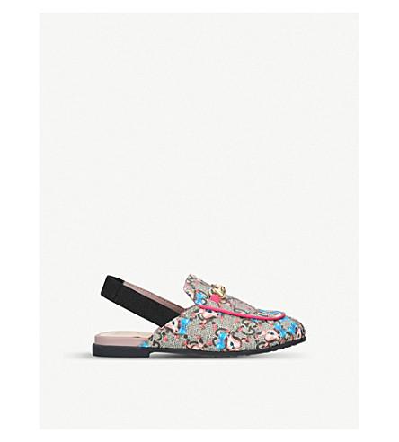 GUCCI 普林斯顿 GG 至尊拖鞋 (5-8 年) (粉红色 + 梳子