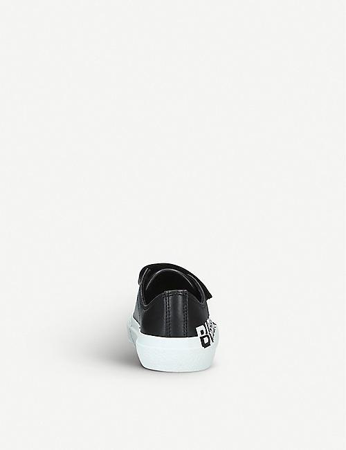 BURBERRY 迷你拉哈尔品牌标识皮革运动鞋 5–9 岁