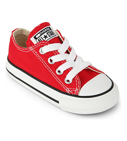 CONVERSE Chuck Taylor all star low 2-7 years (Red